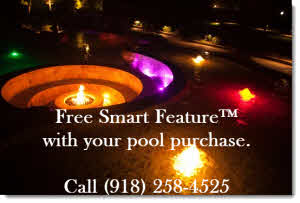 Blue Haven Pools Tulsa OK smart features offer