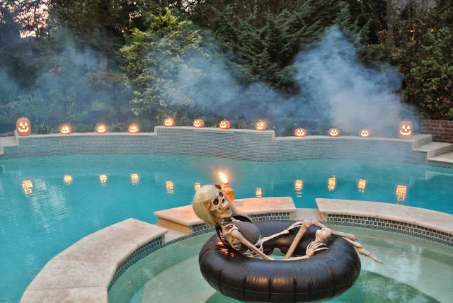 3 Ways To Use Your Hot Tub For Halloween Blue Haven Pools Tulsa
