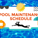 Creating a Pool Maintenance Schedule