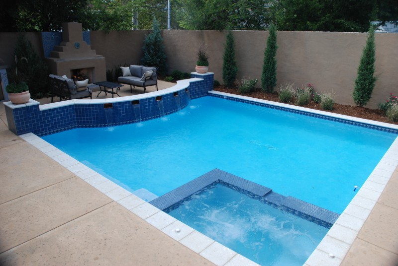 Classic pools blue haven pools tulsa Hot tubs tulsa