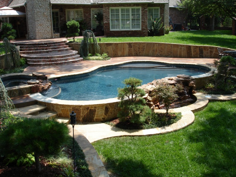 In Ground Pool Cost Oklahoma City Round Designs