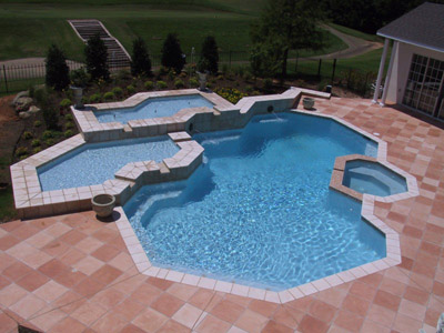 combination custom hot tubs and spas in Tulsa