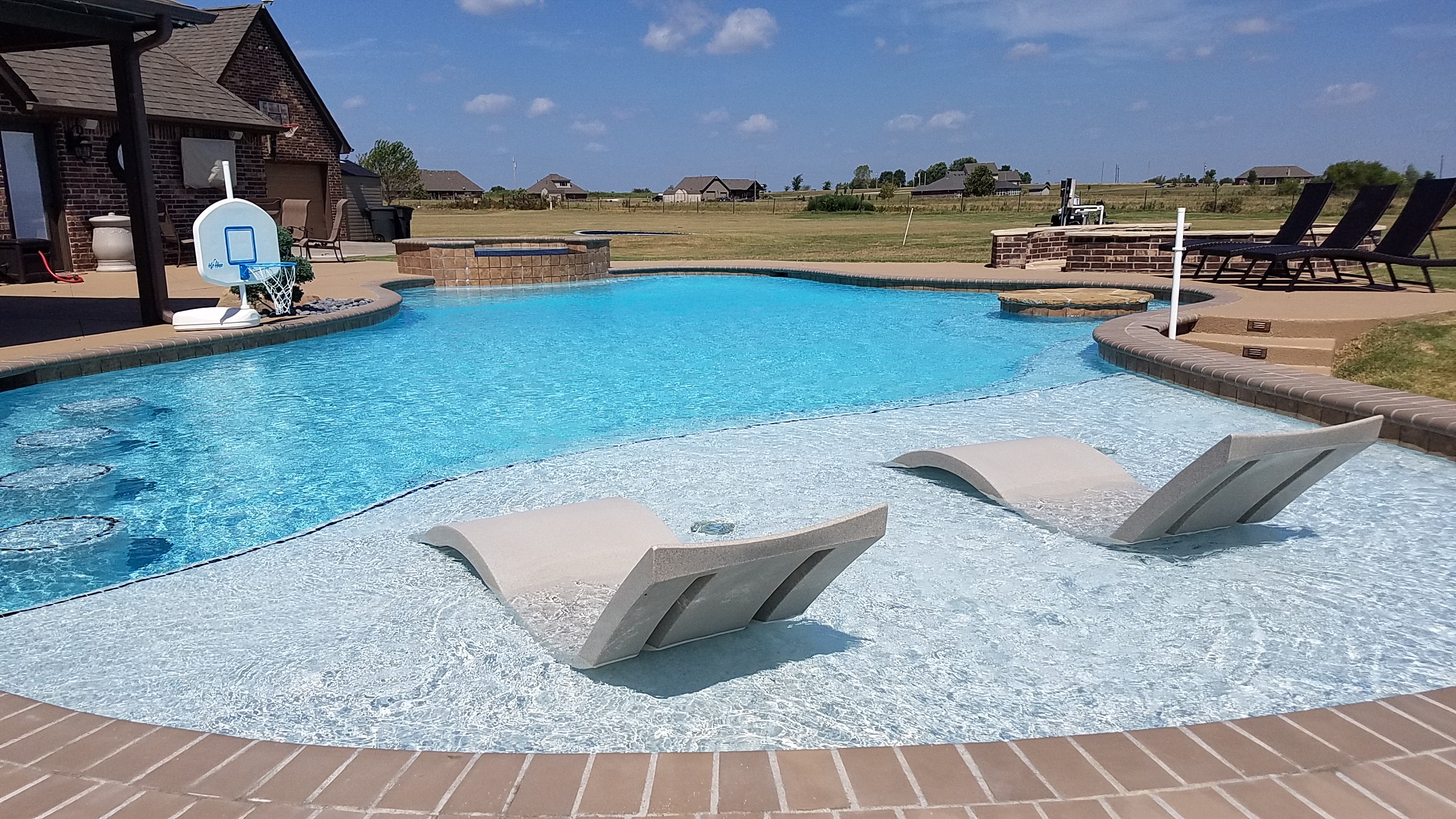 Free Form Pool Designs Blue Haven Pools Tulsa